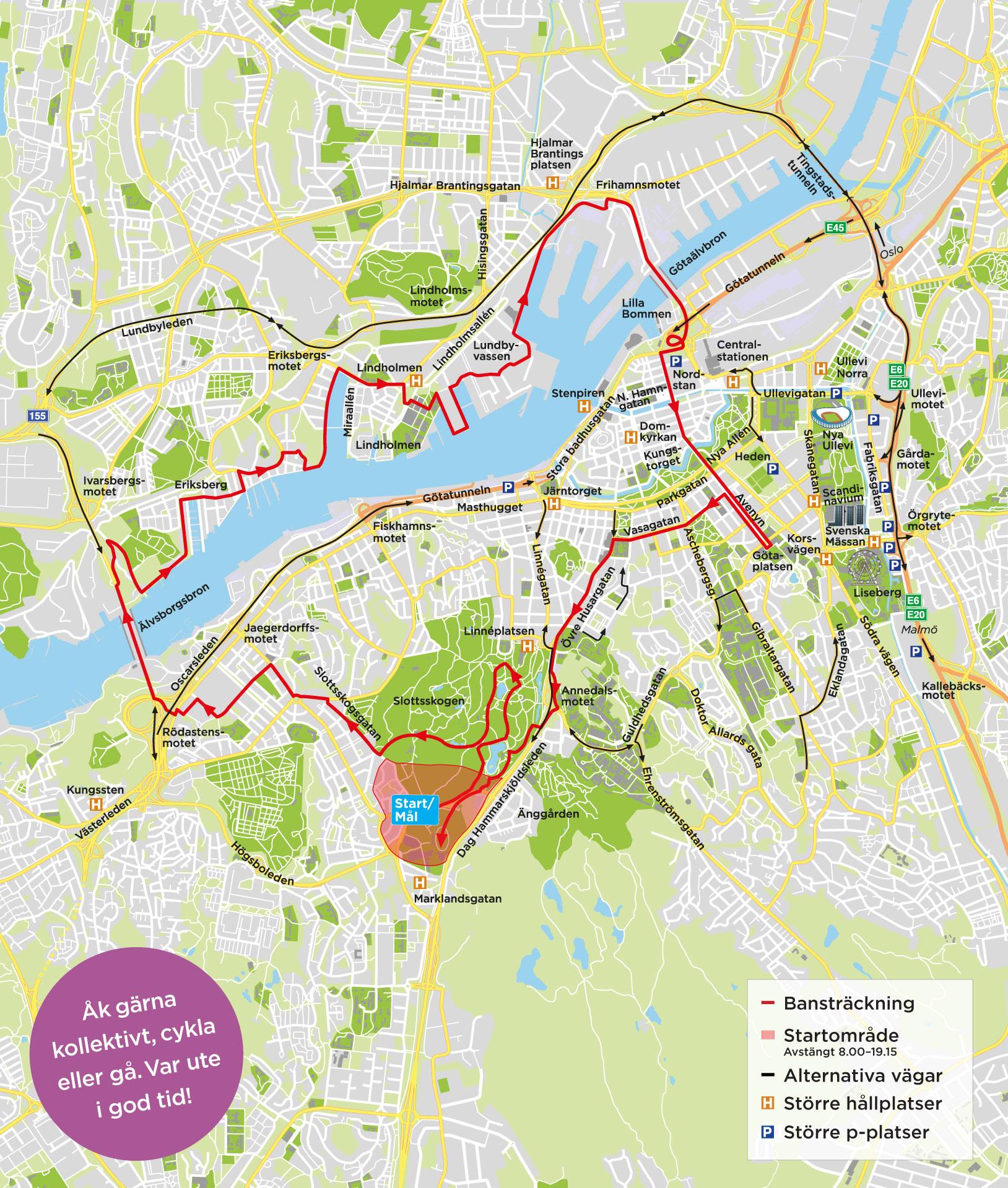 spårvagnslinjer göteborg karta Dags för Göteborgsvarvet | Trafiken.nu Göteborg spårvagnslinjer göteborg karta