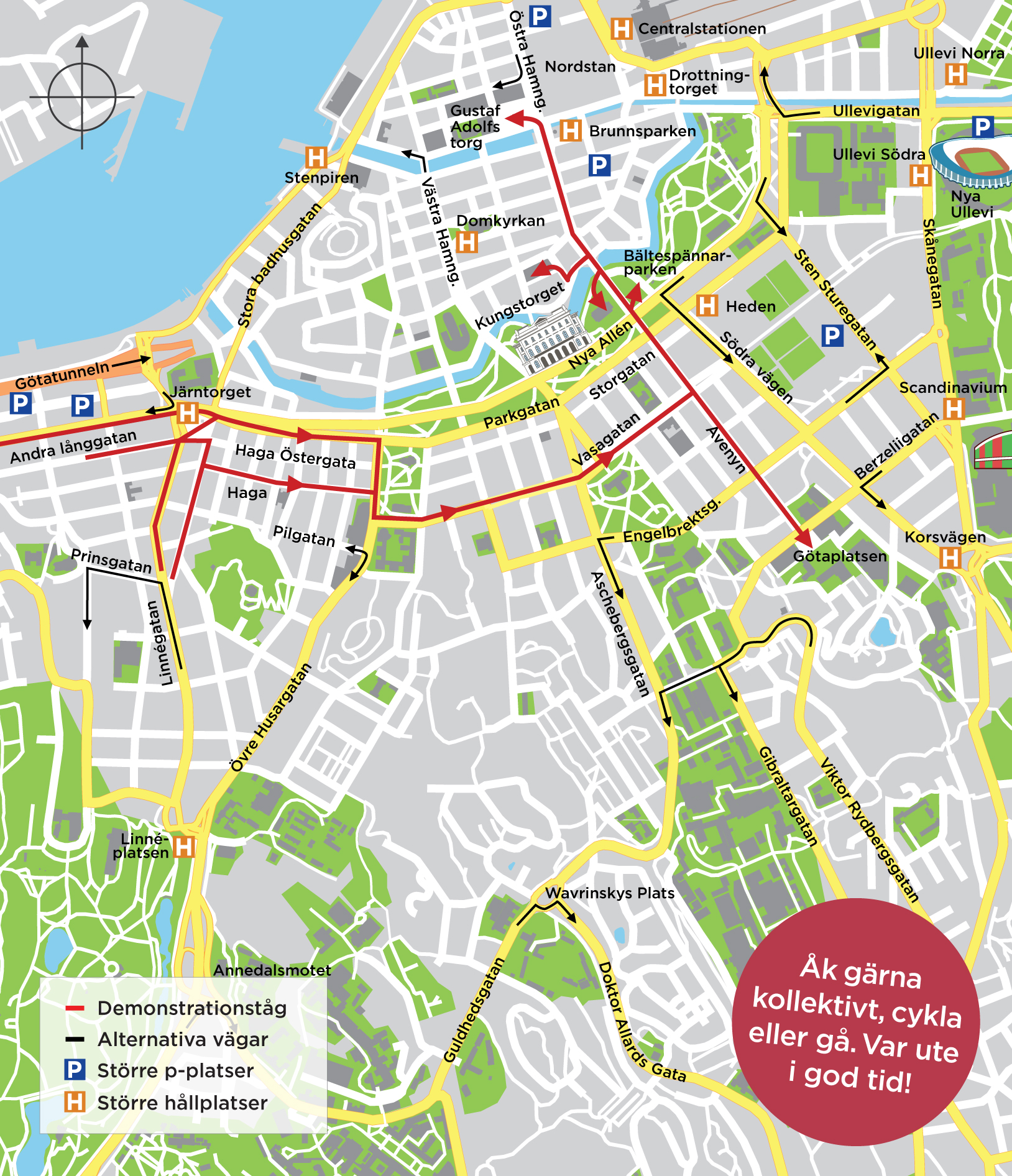 avenyn göteborg karta Chalmerscortègen och 1:a maj | Trafiken.nu Göteborg avenyn göteborg karta