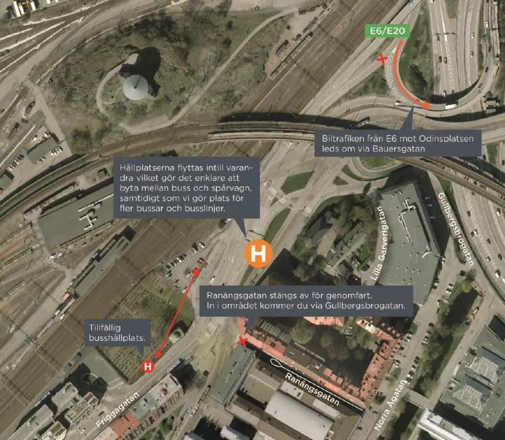 svingeln göteborg karta Nu startar arbetet med nya Svingeln   Trafiken.nu Göteborg svingeln göteborg karta