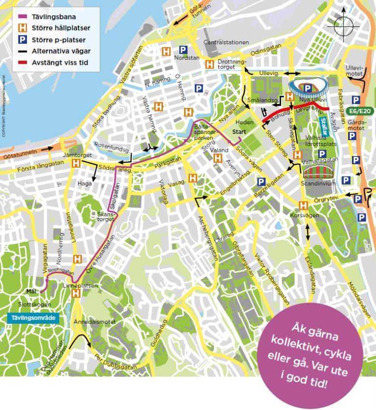 Heden Goteborg Karta.Fartfylld Hasttavling I Centrala Goteborg Trafiken Nu Goteborg