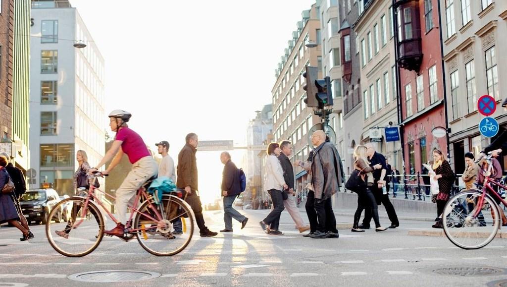 Cykla I Stockholm Trafiken Nu Stockholm